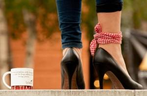 足が大きくても、素敵な靴がはきたいな~