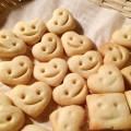 可愛いクッキーできた♪型がなくてもOK☆どこのキッチンにもある「アレ」で顔をつけれちゃう^^
