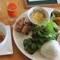 【農園おまかせプレート】でランチ♪ 有機の野菜「ついき農園(七飯町仁山)」さん、併設cafe「にわとり小屋」