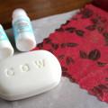 初心者でも簡単♪ 「デコパージュ石鹸」紙ナプキンで飾る作り方^^