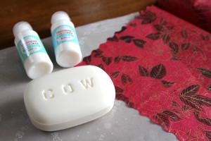 初心者でも簡単♪紙ナプキンで飾る「デコパージュ石鹸」の作り方
