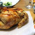 意外と簡単!見栄えもいい★「丸鶏のローストチキン」クリスマスに作りました^^