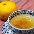 ほっこり温まる♪癒しの「ゆず茶」 無農薬栽培のゆずで、手作りしました^^ 風邪予防、美肌効果も☆