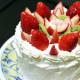 焼き時間15分でホールケーキ★ロールケーキ生地の活用方法♪