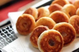 【おかライフ】 卵・牛乳不使用の「おからドーナッツ」♪