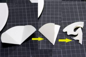 低学年の自由研究に★紙皿とカラーセロファンで、ステンドグラスのような飾り♪ その4