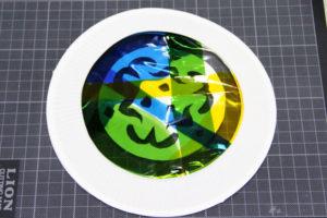 低学年の自由研究に★紙皿とカラーセロファンで、ステンドグラスのような飾り♪ その13